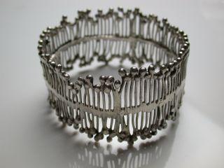 Design Armreifen Silber 925 Modernist Bild