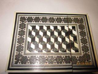 Micro Mosaic Visitenkarten Etui Bild