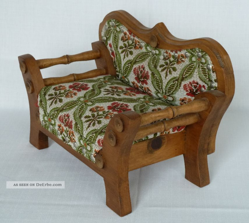 Altes puppensofa puppencouch 70er jahre top for Couch 70er jahre