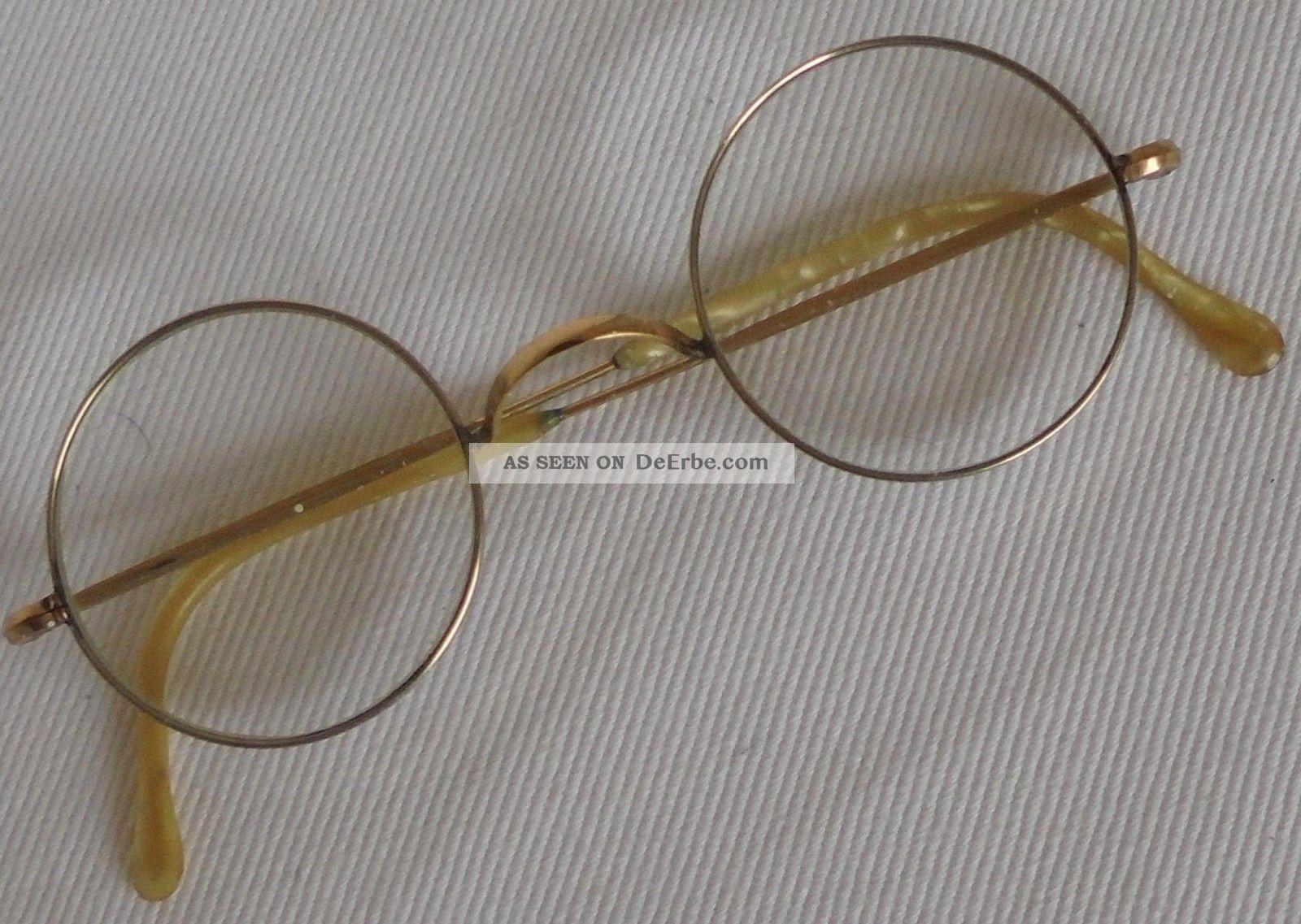 Antike Brille Accessoires Bild