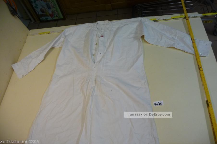 7438.  Altes Hemd Ca.  Um 1920 Kleidung Bild