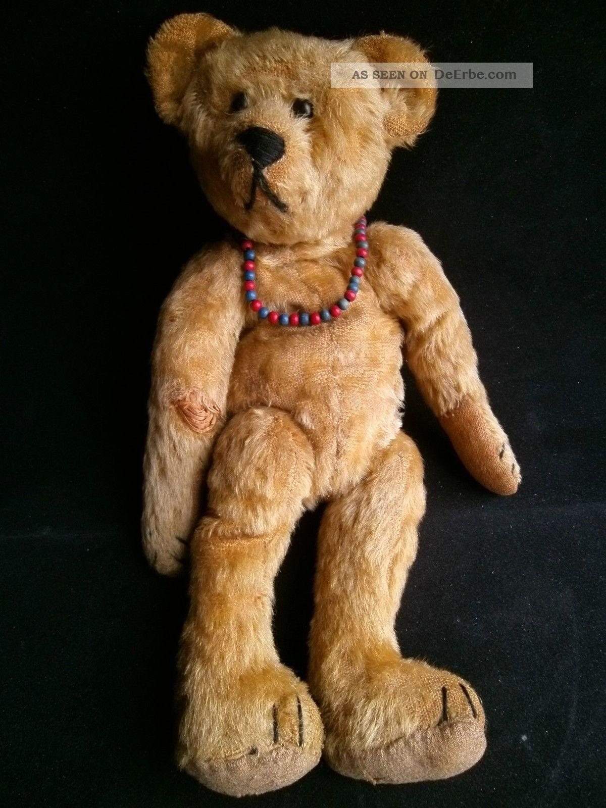 Alter Teddy Ansehen Stofftiere & Teddybären Bild