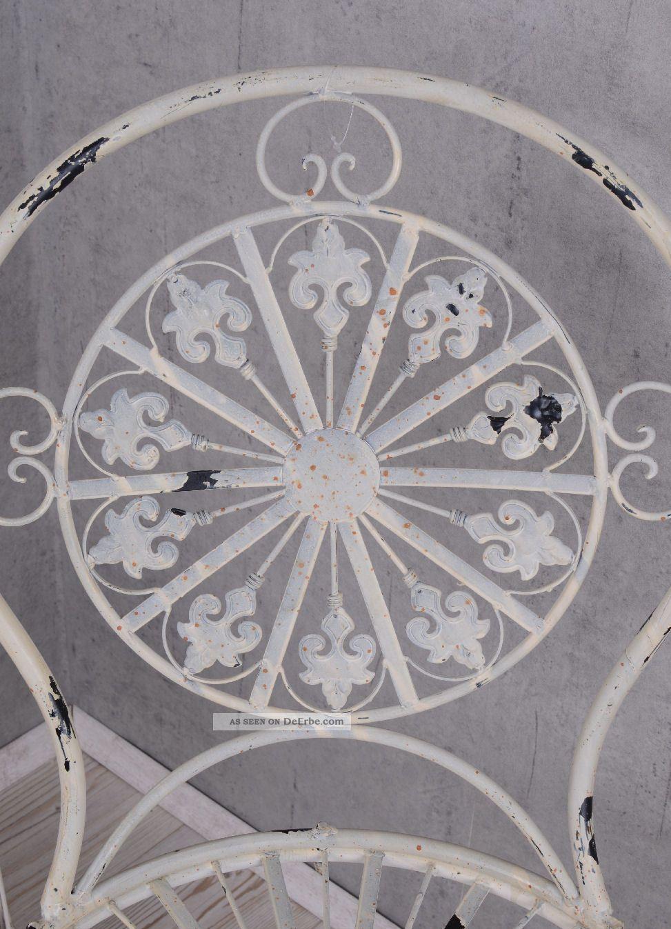 Gartenmöbel Gartenset 1 Tisch Und 2 Stühle Eisenmöbel Antik Style ...