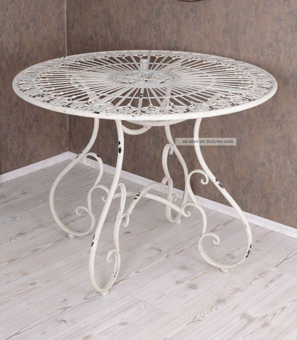 Gartenmbel Gartenset Tisch Und Sthle Eisenmbel Antik Style Vintage With  Gartentisch Sthle