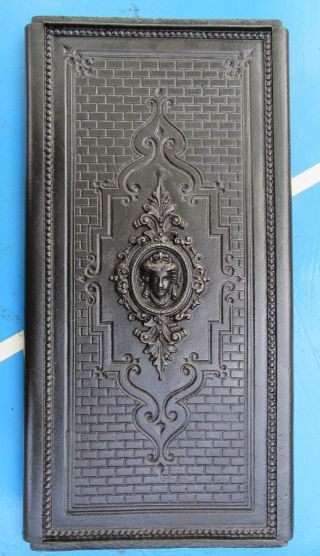 Antike Ofenplatte Eisenguss Etagenofen 23 X 43 Bild