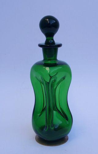 Holmegaard,  Decanter,  Karaffe,  Flasche,  Danish Design Gluckerflasche Bild