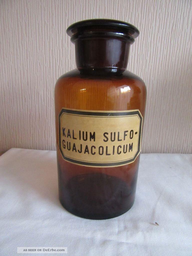 Apothekerflasche Arzt & Apotheker Bild