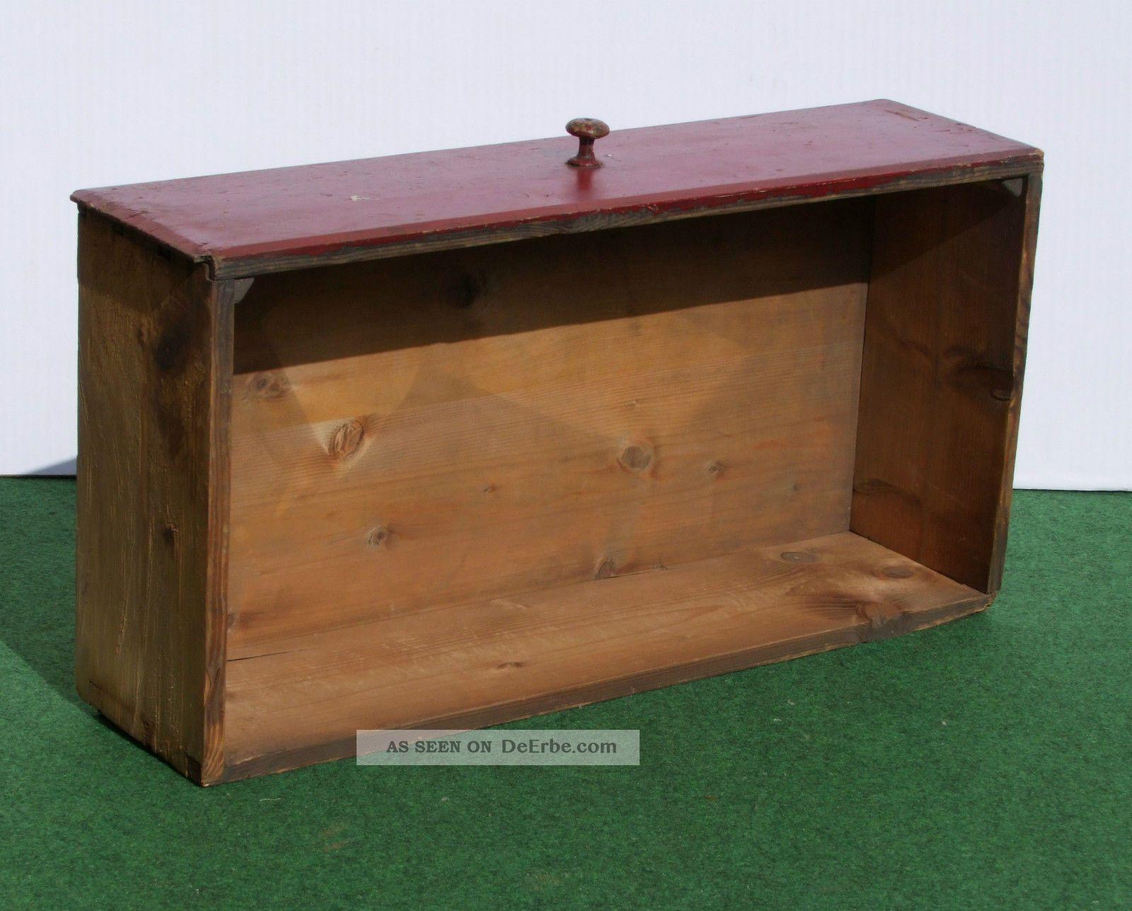 Sehr Alter Holzkasten,  Schubkasten,  Schublade Shabby Chic Dachbodenfund Kaufleute & Krämer Bild