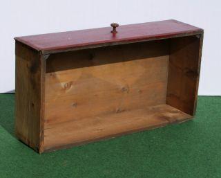 Sehr Alter Holzkasten,  Schubkasten,  Schublade Shabby Chic Dachbodenfund Bild