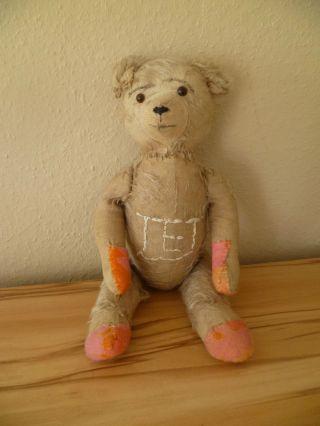 Dachbodenfund: Alter Teddybär Brummbär Ca 48 Cm Bild