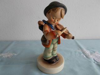 Figur Goebel Hummel Geigenspieler Violinenspieler H 14cm Top Bild