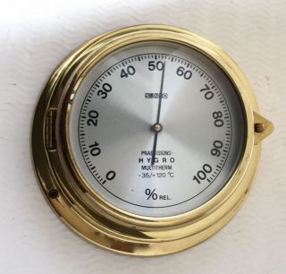 Altes Sundo Schiffs Hygrometer
