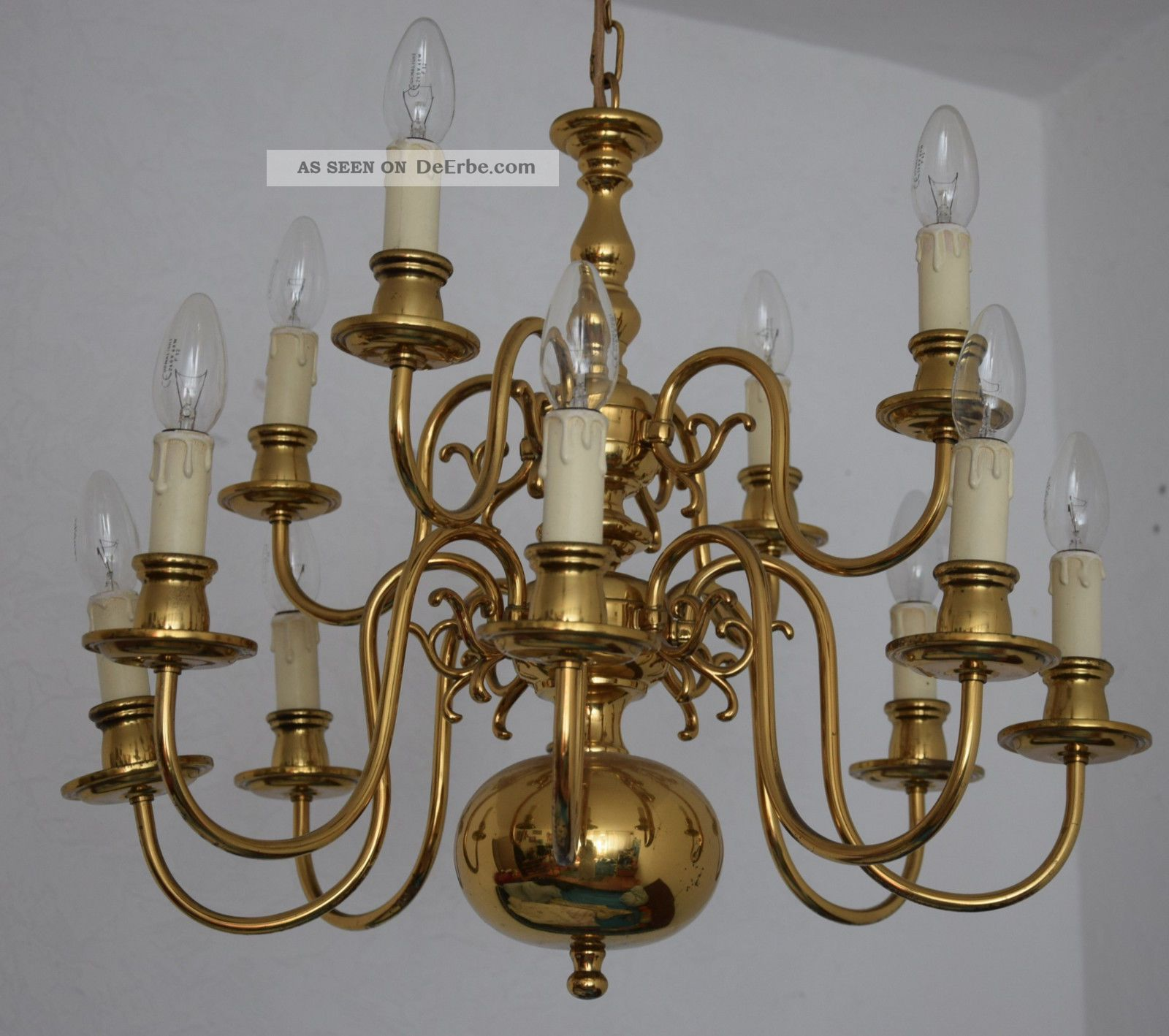Deckenlampe Aus Holz Cool Messing Bronze Lampe Leuchter: Kronleuchter Antik Messing. Kronleuchter Messing Antik