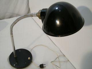 Schreibtischlampe Bauhaus/artdeco Um 1940 Lndustrie Design Werkstatt Bild