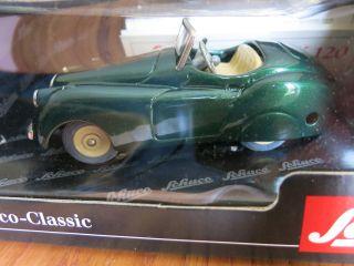 Schuco,  Jaguar Xk 120,  In Orig.  Kasten,  Unbespielt,  Racing Gruen,  Metallic Bild