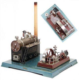 Fleischmann 135 / 2 Dampfmaschine Mit Ovp Selten Rarität Rar Bild