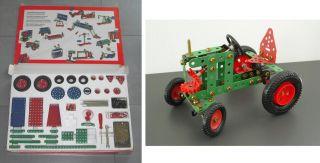 Orig.  MÄrklin Metall - Baukasten M 50 M50 1005,  Traktor Aus Dem Jahre 1990 Bild