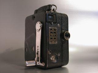 Zeiss Ikon Kinamo S 10 16mm Federwerk Filmkamera 1929 Top Erhalten Bild