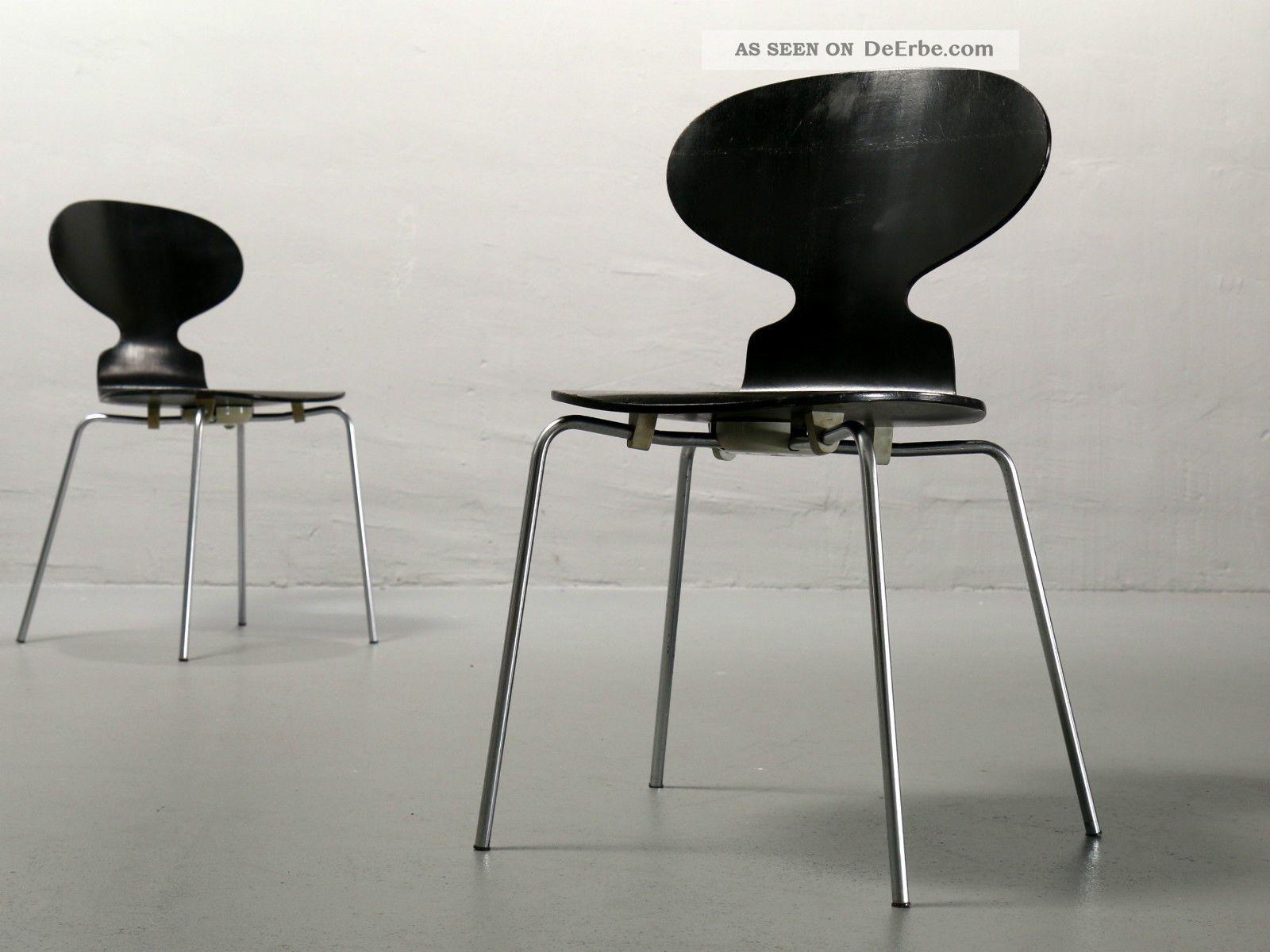 1 von 2 Arne Jacobsen Ameise 3101 Fritz Hansen 1967