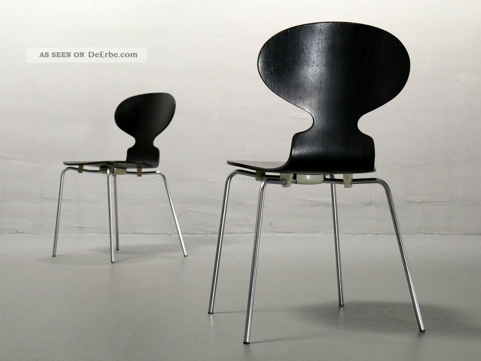 1 von 2 arne jacobsen ameise 3101 fritz hansen 1967. Black Bedroom Furniture Sets. Home Design Ideas