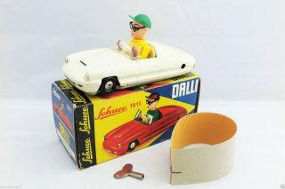 Schuco 1011 Dalli Auto Wendefahrzeug In Ovp / Turn - Back Car Boxed (1961 - 1968) Bild