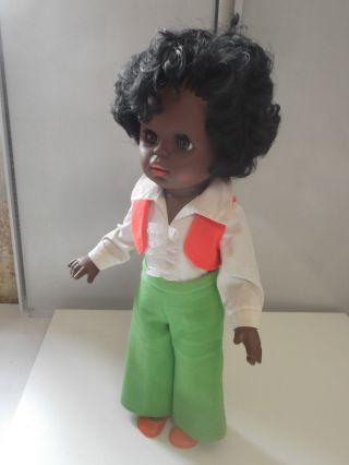 Alte Schildkröt Puppe Schwarzes Mädchen (nr.  45) Aus Nachlass - Puppensammlung Bild