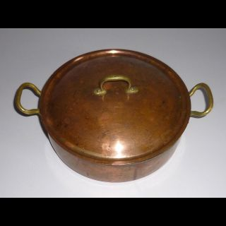 Heritage Kupfer Topf Kasarolle Samhall Dala Made In Schweden Alte Kupfertöpfe 1 Bild