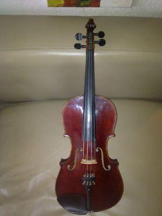 65 Jahre Alte 4/4 Geige Stradivari,  Spielbereit. Bild