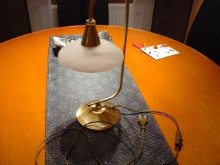 Tischlampe,  Messing,  Wofi Leuchte / Meschede,  Aus Nachlass Top Bild