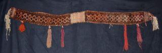 Antique Turkmen Tierschmuck Afghan Beluch 167x15 Rug Tribal Nomad Tappeto Tapis Bild