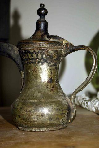 Antike Osmanische Kanne Teekanne Türkisch Kaffekanne Bild
