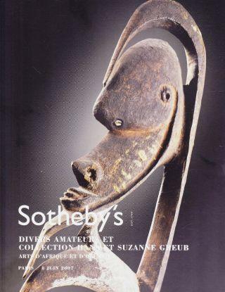 Tribal Art - Afrika,  Ozeanien: Toller Wälzer Sotheby ' S Paris 07,  Results Bild