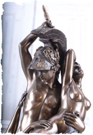 Achilles & Polyxena Trojanischer Krieg Skulptur Antike Mythologie Figur Bild