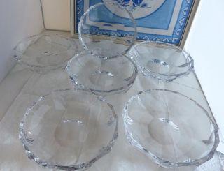 6 Nachtmann Julia Bleikristall Dessertschalen Ø.  14,  5 Cm Salat Schälchen Bild