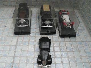 4 Solido Düsenberg 4156/ Rheinstella 4097/ Mercedes Ssl Citroen 15 Modellauto Bild