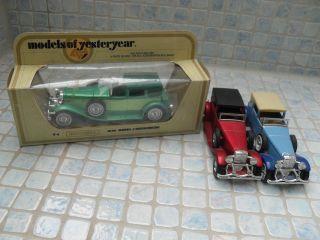 7matchbox Lesney Y - 4 Duisenberg Modelauto Y 12,  Y21,  Y22 Knovolut Bild