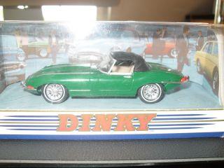 Dinky 31157 | Matchbox Dy - 1 1968 Jaguar Grün Modellauto Ovp Bild