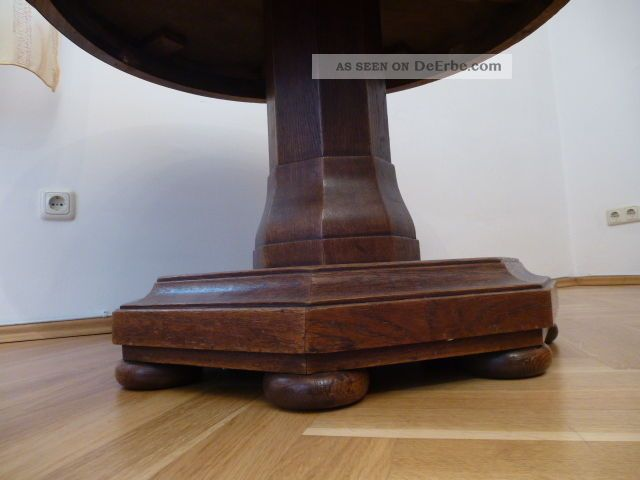 Tisch eiche massiv holz um 1930 for Tisch eiche massiv