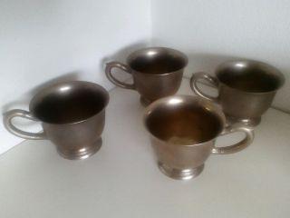 Alte Tassen Aus Silber Bild