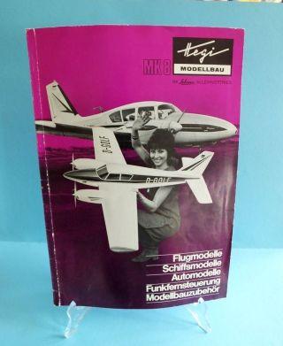 Hegi Modellbau Katalog 1970 Im Schuco Alleinvertrieb Flug Schiff Auto Modelle Bild