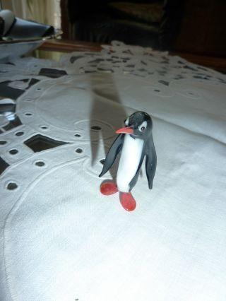 Glastiere Ein Pinguin Lauscha,  Ddr Reh,  Ca.  1960er Jahre,  Lauscha Glastiere Bild