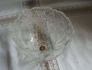 Glasschale Schale Dekoschale Waltherglas Walther Glas Blue Bells Bild