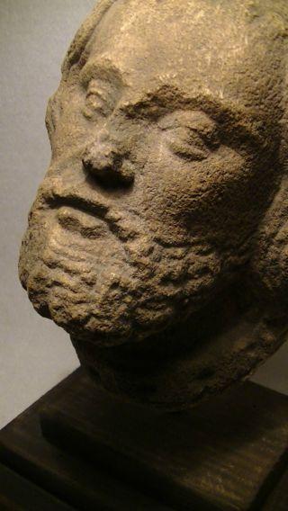 Alter Kopf,  Büste,  Historisch,  Stein,  Kunst Handwerk Antik,  Mittelalter Motiv Bild