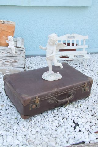 1 Uralter Toller Kleiner Koffer,  Vintage,  Shabby Chic Bild
