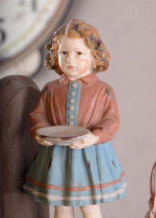 Vintage BuchstÜtzen Shabby Chic Figur Kinderfiguren BuchstÄnder Bild