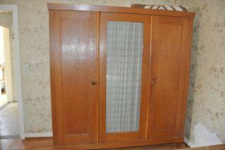 ♥♥ Großer Alter Massiver Antiker Schlafzimmer Schrank Kleiderschrank ♥♥ Bild
