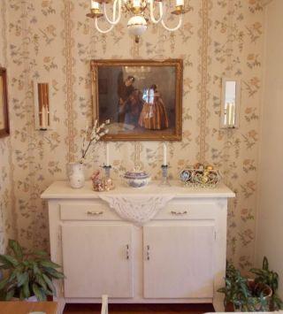 Anrichte Kommode Sideboard Küchenschrank Shabby Weiß Unterschrank Schrank Bild