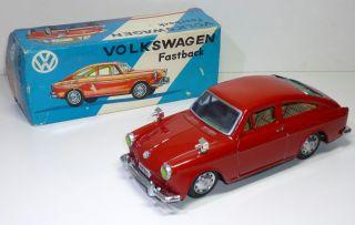 Shimazaki (japan) 1960 ' S Volkswagen / Vw 1600 Tl Fastback,  Komplett Mit Ovp. Bild