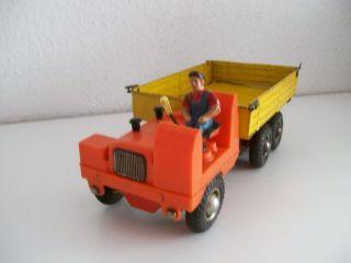 Strenco Kipplader Mit Massefigur Baustellenfahrzeug Made In Western Germany Bild