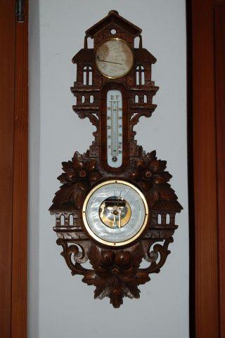 Wetterstation Barometer J.  H Stoutjesdyk,  Vlissingen Nederland Bild